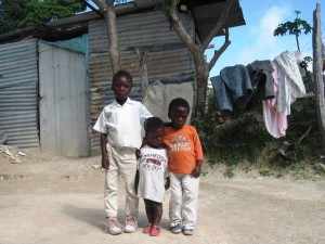 Haiti Felix - Poor children