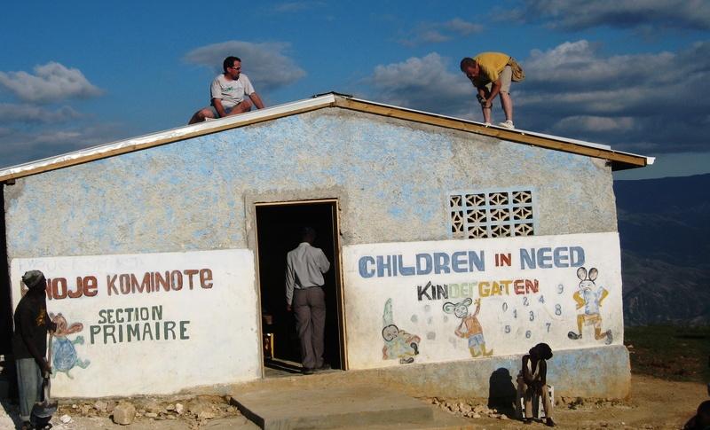 Haiti Felix - Roof Repir