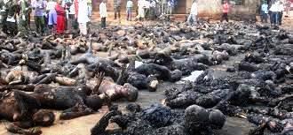 Nigeria - burned Christians