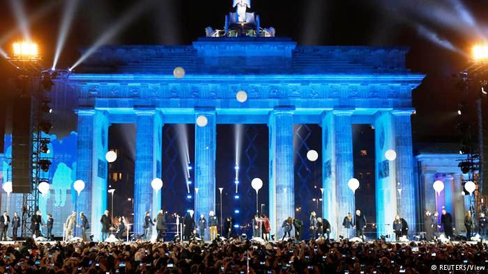 Germany - 2014 Celebration Fall of Berlin Wall