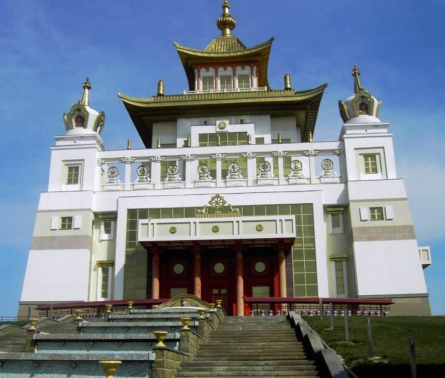 Kalmykia - Buddhist Temple - Picture1 B