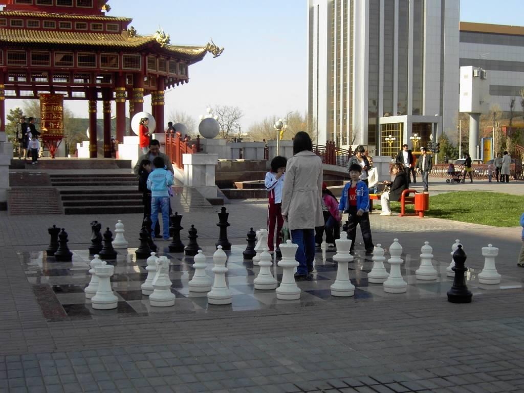 Kalmykia - Street chess