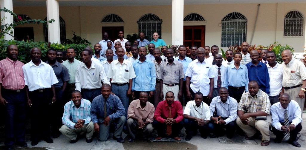 Church planting pastors in Les Cayes, Haiti