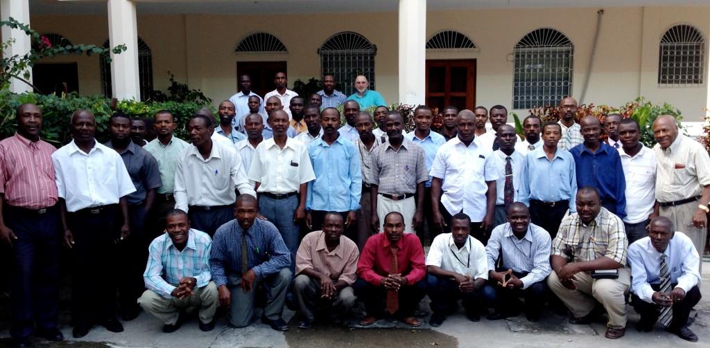 Church planting pastors in Les Cayes, Haiti