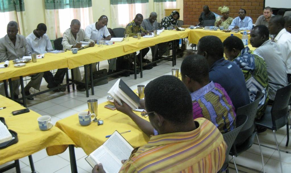 Pastor training Niamey, Niger