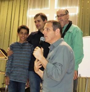 Mark teaching on generations - Yekaterinburg, Russia