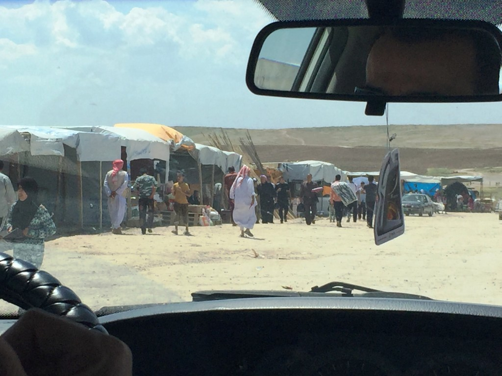 Displaced Yazidis in Northern Iraq