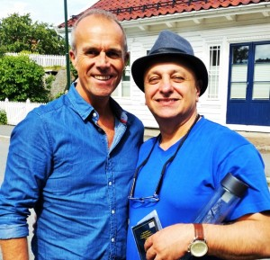 Sargon with Lasse Rosten, faithful leadership member