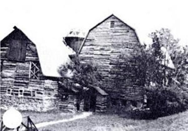 The Love Inn Barn in 1974 when I first moved to New York and established the school there.