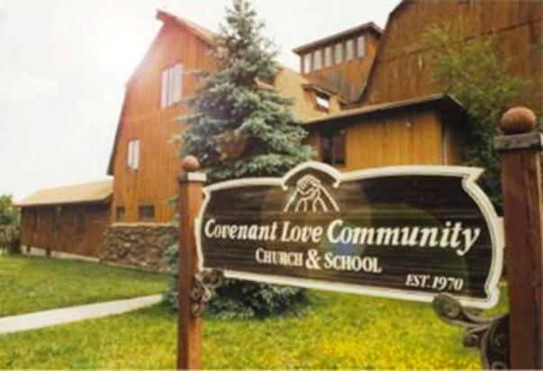 The Barn in the early eighties after renovation and change of name to Covenant Love Community